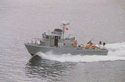 P23-Maltese Navy (PCF 813)