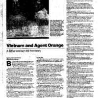 Vietnam Agent Orange: A Father and Son Tell Their Story