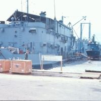 PCF-19 OUT OF THE WATER NEXT TO THE YR-71 NOV 1967.jpg
