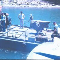 A Swift Boat Getting Underway