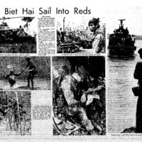 Patrols End - A Swift Boat Arrives to Carry Troops Back to Nam Can