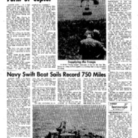Navy Swift Boat Sails Record 750 Miles