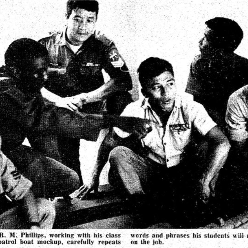 Viet Sailors learning the ropes.JPG