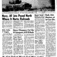 Navy Choppers Cut Up 10 Sampans, Kill 10 Reds